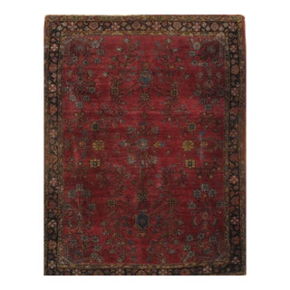 "Pasargad N Y Antique Persian Sarouk Farahan Hand Knotted Rug - 3'10"" X 5'"