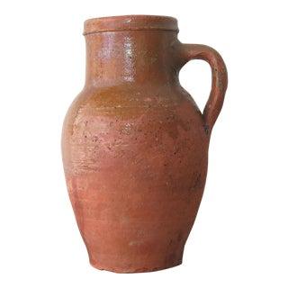 Turkish Terra Cotta Clay Jar