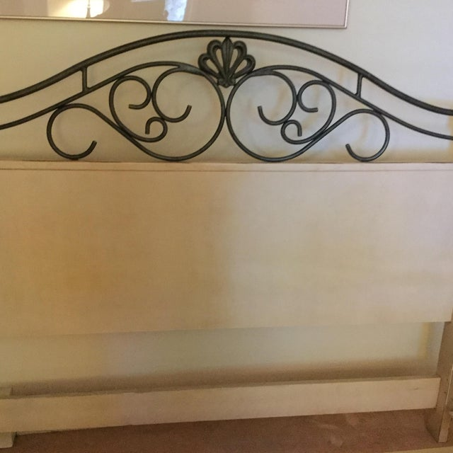 Drexel Heritage French Countryside Queen Bed For Sale - Image 4 of 8