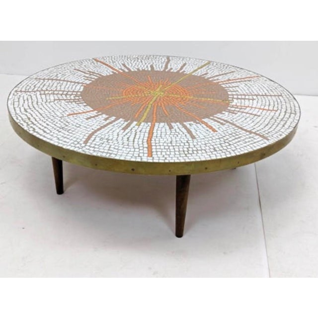 Mid Century Modern Mosaic Coffee Table For Sale - Image 9 of 9