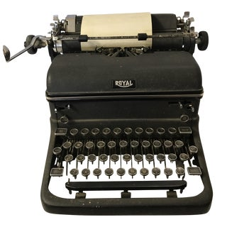 Vintage Royal Typewriter