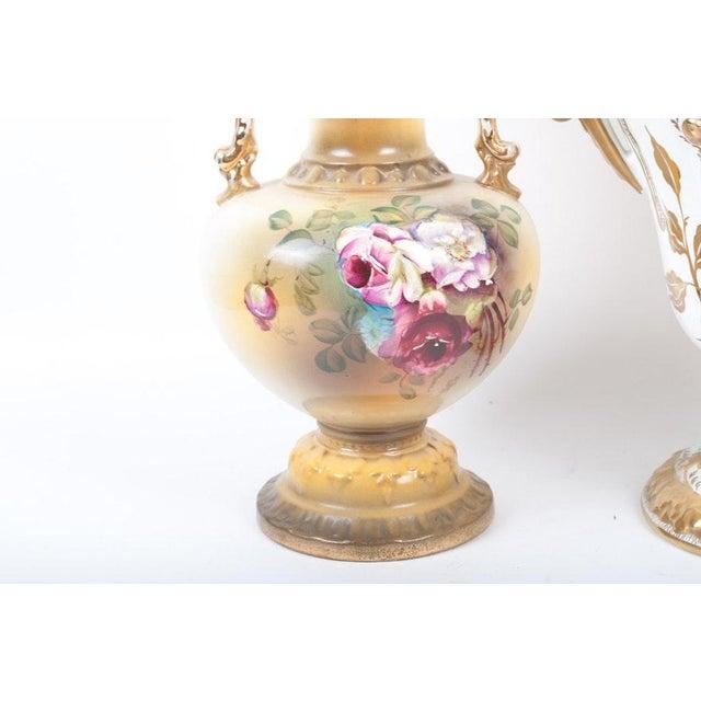 Lenwile Ardalt Victorian Floral Vases Set Of 3 Chairish