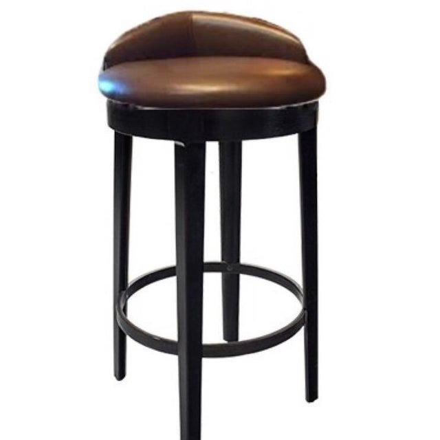 """Mid-Century Modern Truex American Furniture""""Tip Top"""" Swivel Barstool One of Our Top 5 Selling Items For Sale - Image 3 of 4"""