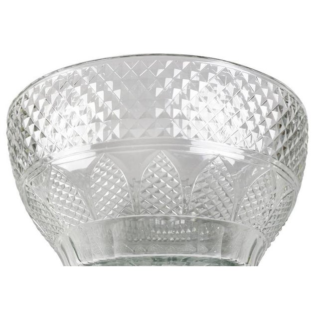 Anglo Irish Cut-Glass Covered Tureen and Underplate For Sale In Boston - Image 6 of 10