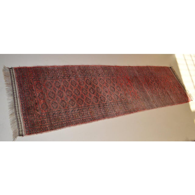 "Vintage Persian Runner- 2'5"" x 7'11"" - Image 4 of 7"