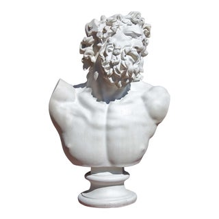 Classical Renaissance Bust of a Man For Sale