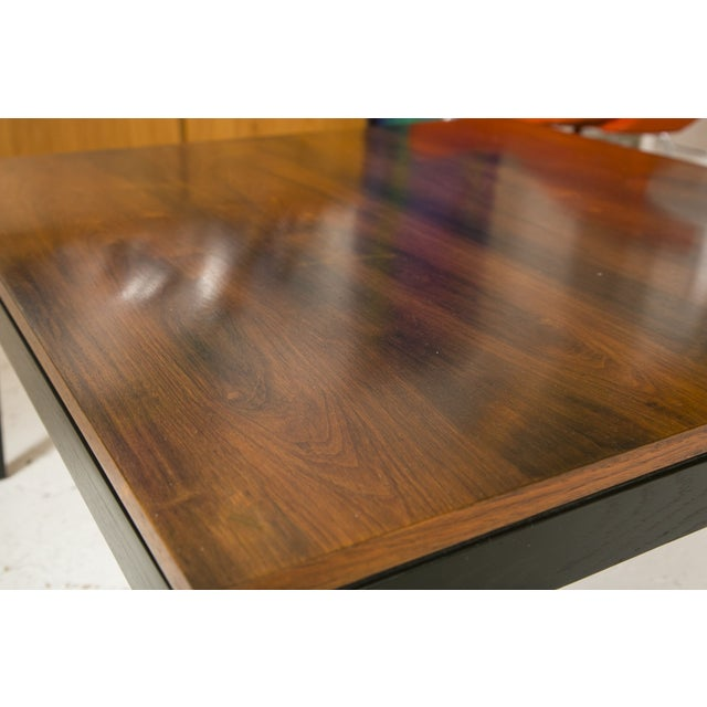 1960s Rosewood Ebonized Cocktail or Coffee Table - Image 6 of 6