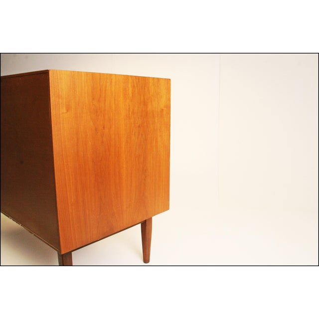 Mid-Century Modern Drexel Wood Record Cabinet - Image 7 of 11