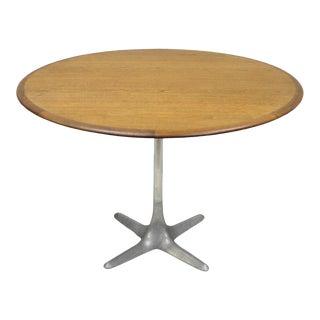 Mid Century Danish Modern Moreddi Andersen Walnut Dining Table Propeller Base For Sale