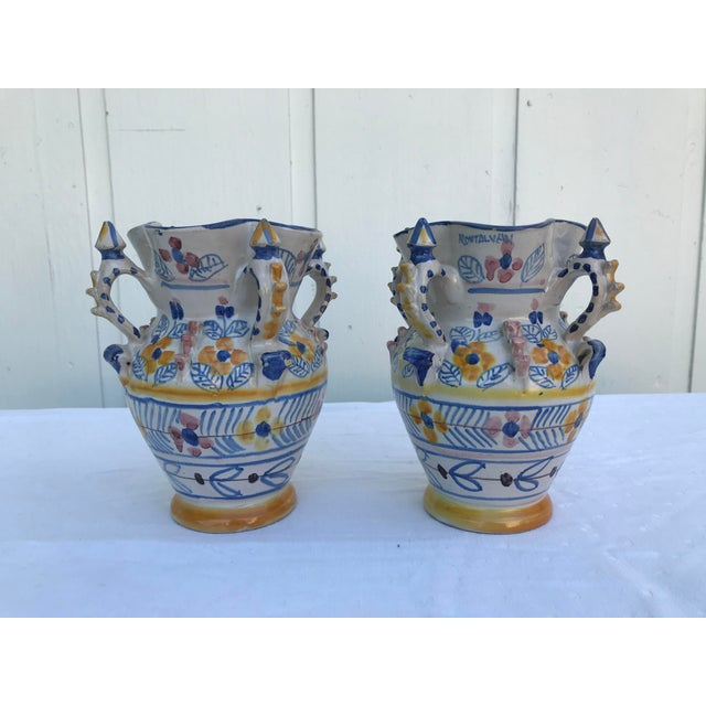 Montalvan Ceramic Vases - a Pair For Sale - Image 13 of 13