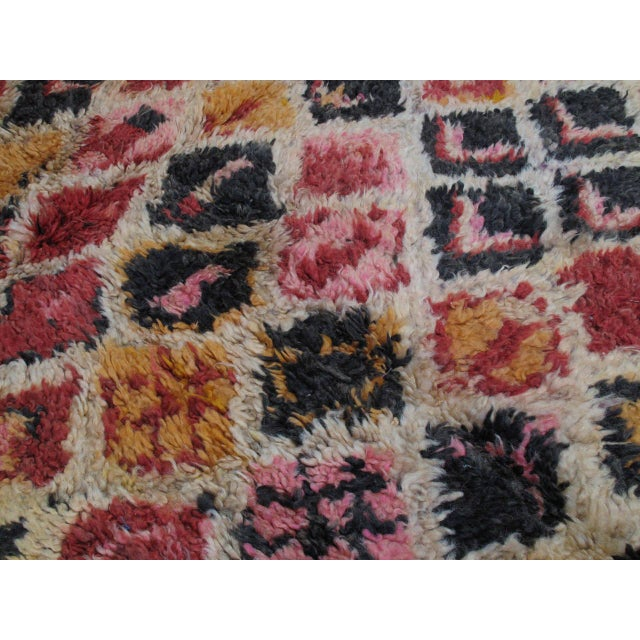 1950s Ait Youssi Moroccan Berber Rug For Sale - Image 5 of 10