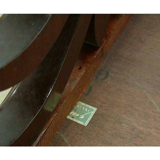 1950s Circa 1950 United States Custom T. H. Robsjohn Gibbings End Tables - Pair For Sale - Image 5 of 7