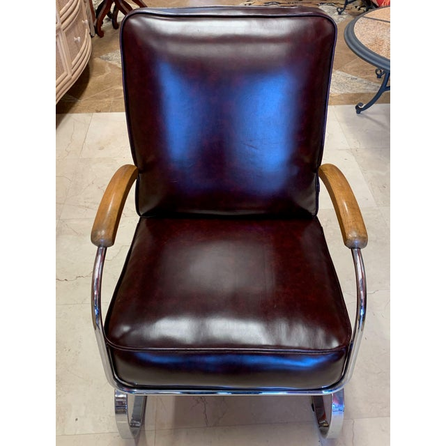 Kem Weber Style Spring Lounge Chair For Sale In Tampa - Image 6 of 13