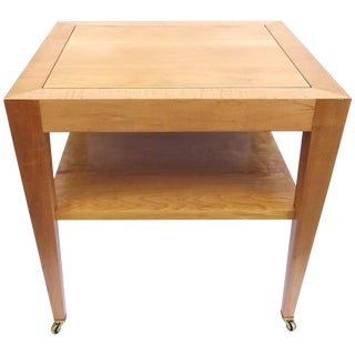 1980s Donghia End Table, Property of Francesco Scavullo For Sale
