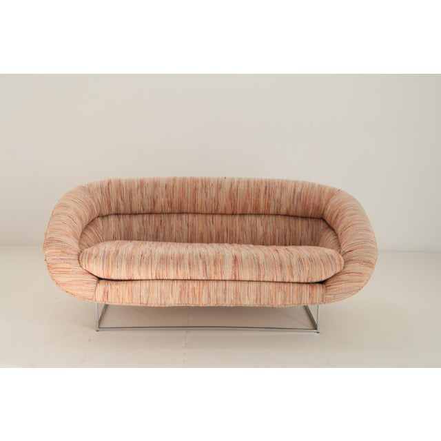Americana Sofa Milo Baughman For Sale - Image 3 of 7