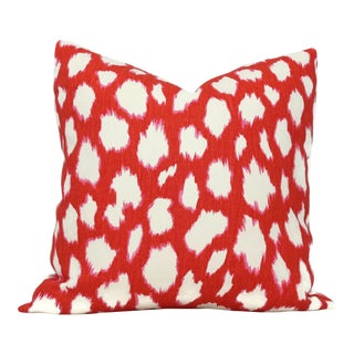 "20"" x 20"" Maraschino Leocat Pillow Cover For Sale"