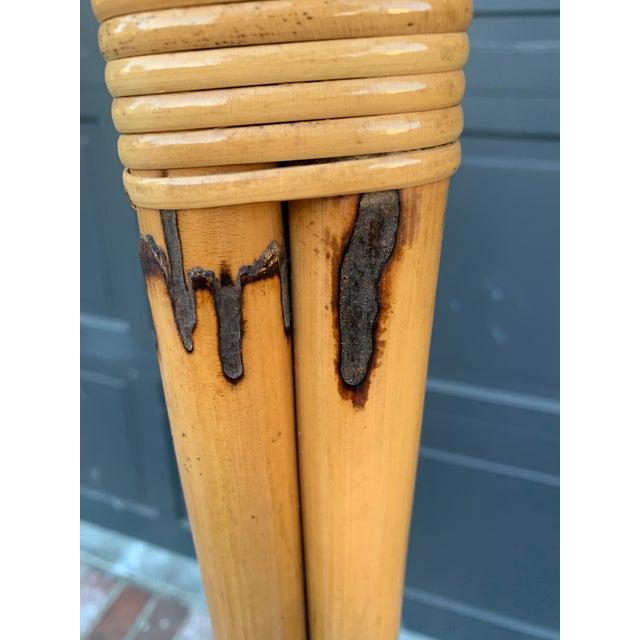 Wood Victorious Bonacina Bamboo Coat & Hat Rack For Sale - Image 7 of 8