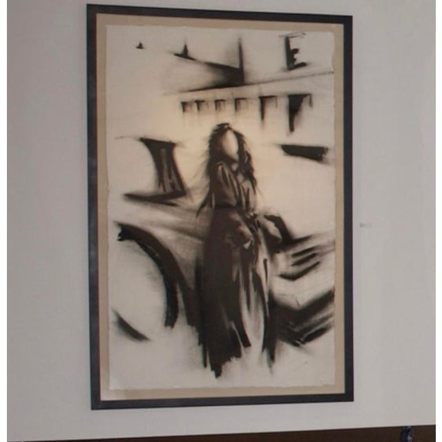 2010s Greg Lauren Contemporary Painting For Sale - Image 5 of 8