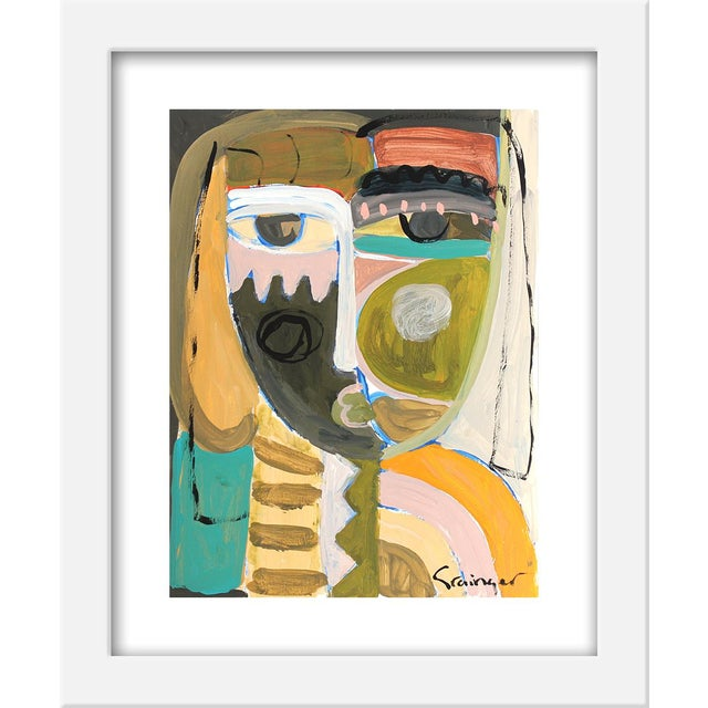 """Contemporary Small """"Ava Mae"""" Print by Lesley Grainger, 10"""" X 12"""" For Sale - Image 3 of 3"""