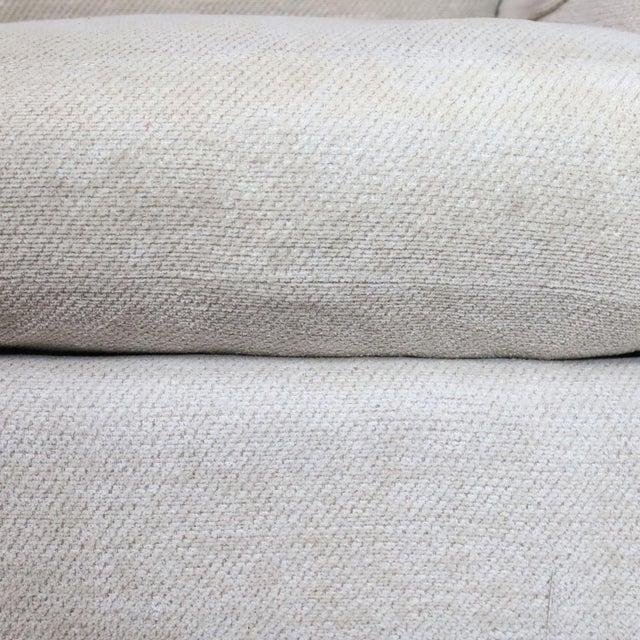 Henredon Upholstered Ivory Sofa For Sale - Image 9 of 11