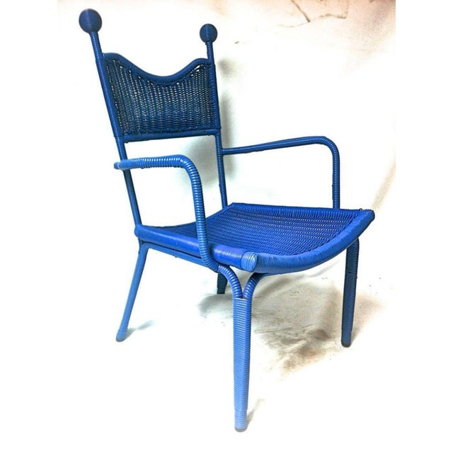 Mid-Century Modern Jean Royere Unique, Documented Personal Armchair From His House in Brittany For Sale - Image 3 of 7