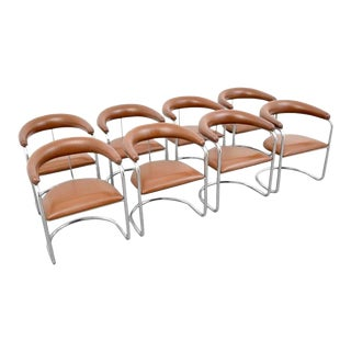 Anton Lorenz for Thonet Dining Chairs - Set of 8 For Sale