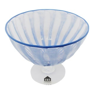 Mette Andersen Glass Coupe For Sale