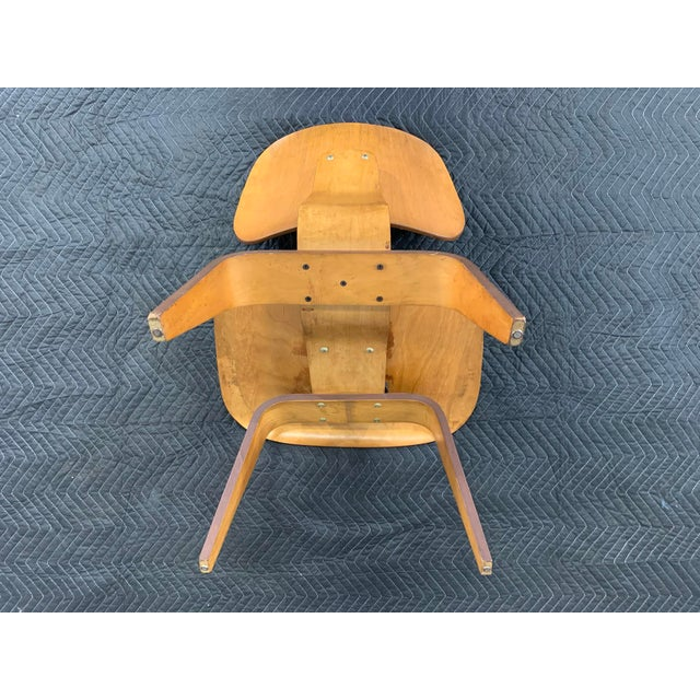 Mid-Century Charles Eames Lcw Herman Miller Lounge Chair For Sale - Image 9 of 11