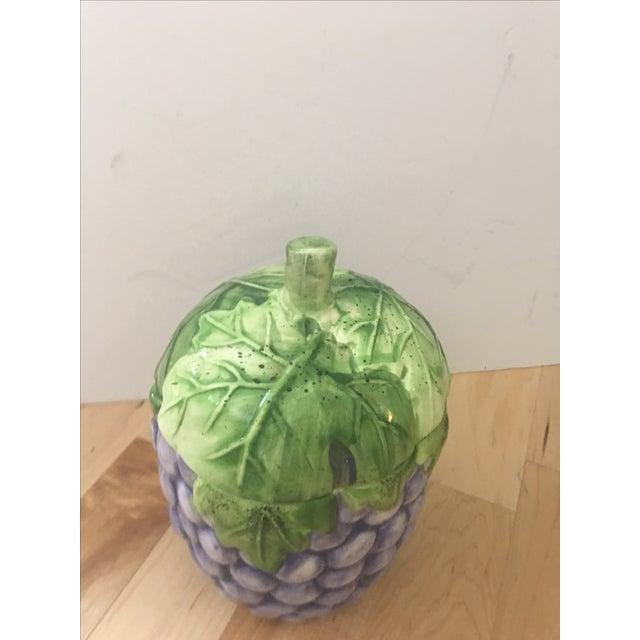 Large Grape Lidded Jar - Image 3 of 5