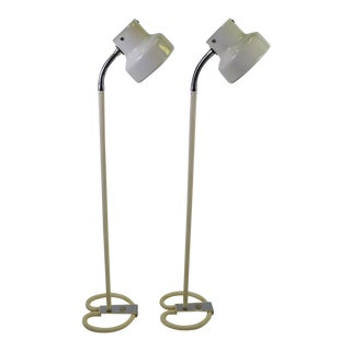 "Pair of Anders Pehrsson ""Bumling"" Floor Lamps for Atelje Lyktan For Sale"
