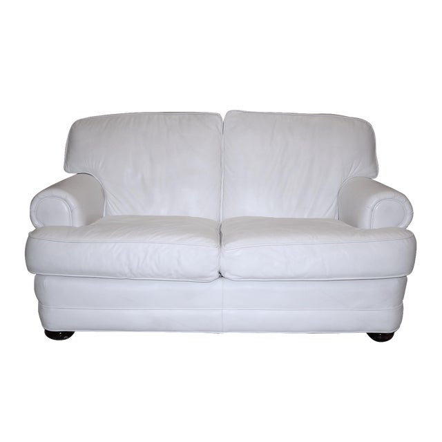 Top Grain Leather Loveseat by Emerson Leather - Image 1 of 10