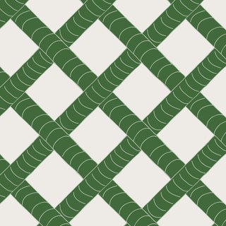 House of Harris Park Wallpaper, 30 Yards, Green For Sale
