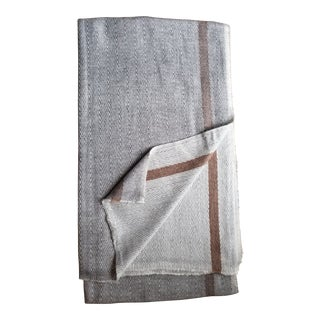 Super Soft 100% Cashmere Bed Cover Throw 56x110 For Sale