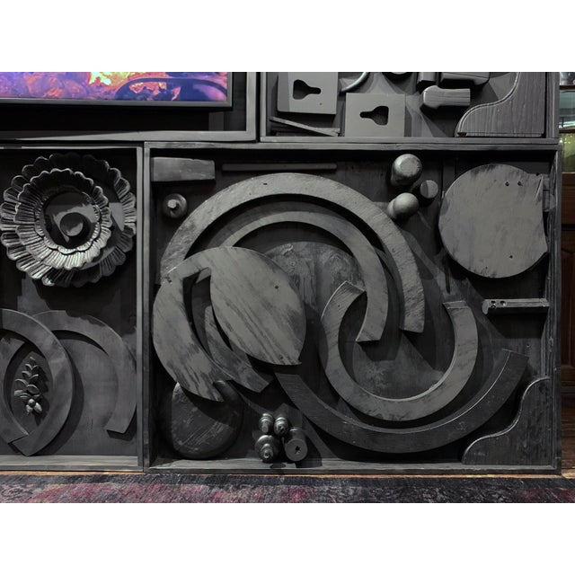 2020s Gt Atelier Custom Tv Art Wall by the Golden Triangle Chicago For Sale - Image 5 of 13