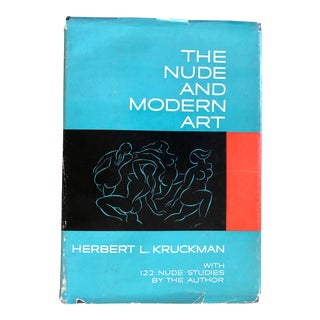 """Vintage Book """"The Nude and Modern Art"""" by Herbert L. Kruckman For Sale"""