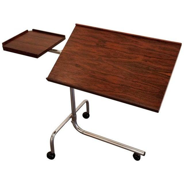 Danecastle Aps Rosewood Adjustable Bedside Desk or Table For Sale - Image 13 of 13