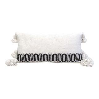 Cotton Moroccan Pom Pom Pillow