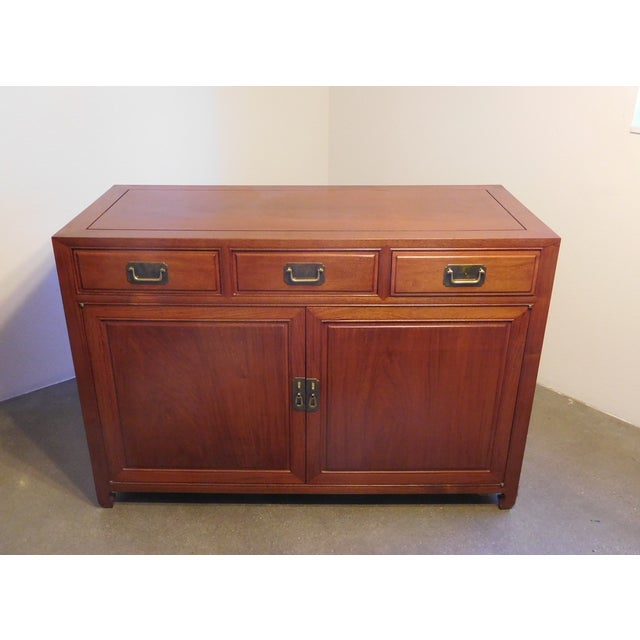 Vintage Chinese Rosewood Buffet - Image 2 of 9