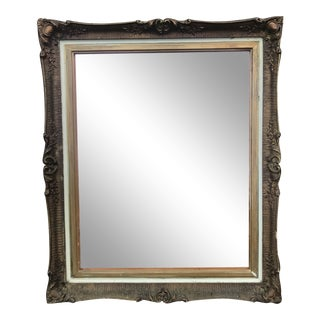 Antique Rose Gold Mirror For Sale