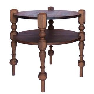 Hampstead Side Table in Black Walnut For Sale