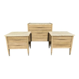 Mid Century Modern Chest of Drawers by American of Martinsville (Nightstands Have Sold) For Sale