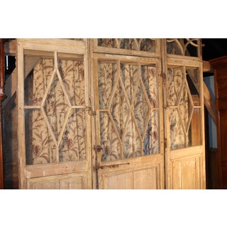 Large Directoire Period Glazed Boiserie Panels With Door Preview