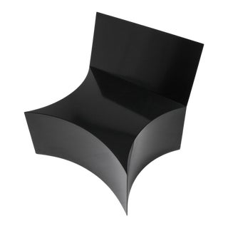 Chair by Bayny in Black Powder Coated Steel For Sale