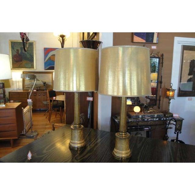 Paul Hanson Hollywood Regency Lamps - A Pair - Image 6 of 7