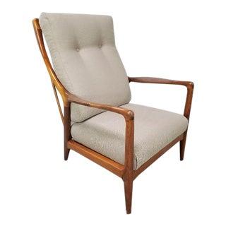 1960s Mid-Century Recliner Armchair by Jack Van Der Molen For Sale