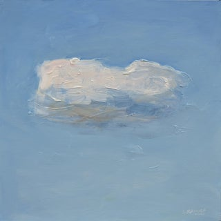 Small Cloud Study Hover Contemporary Painting by Stephen Remick For Sale