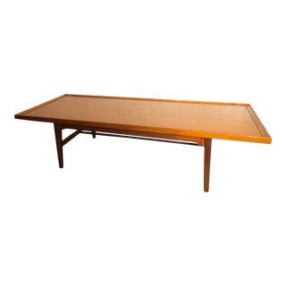 1950s Mid Century Modern Drexel Declaration Coffee Table For Sale