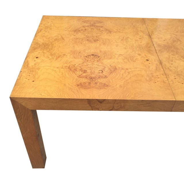 Milo Baughman Burl Parsons Table For Sale In New York - Image 6 of 10
