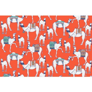 Camels Firenze Linen Cotton Fabric, 6 Yards For Sale