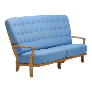 Robert Guillerme and Jacques Chambron Settee For Sale